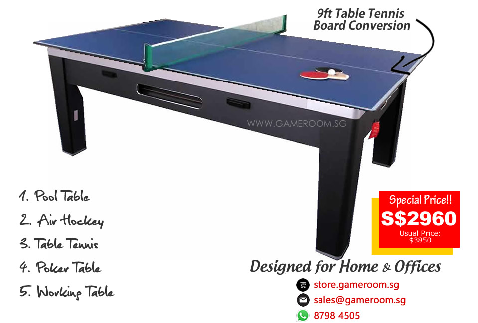 Table Length: 213cm. Table Width: 122cm. Table Height: 84cm. Table Weight:  160kg